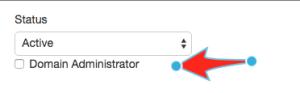 Setting a mailbox to Domain Admin